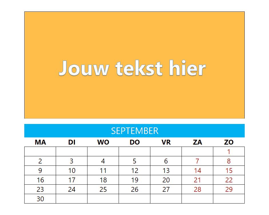 Kalenderontwerp 17