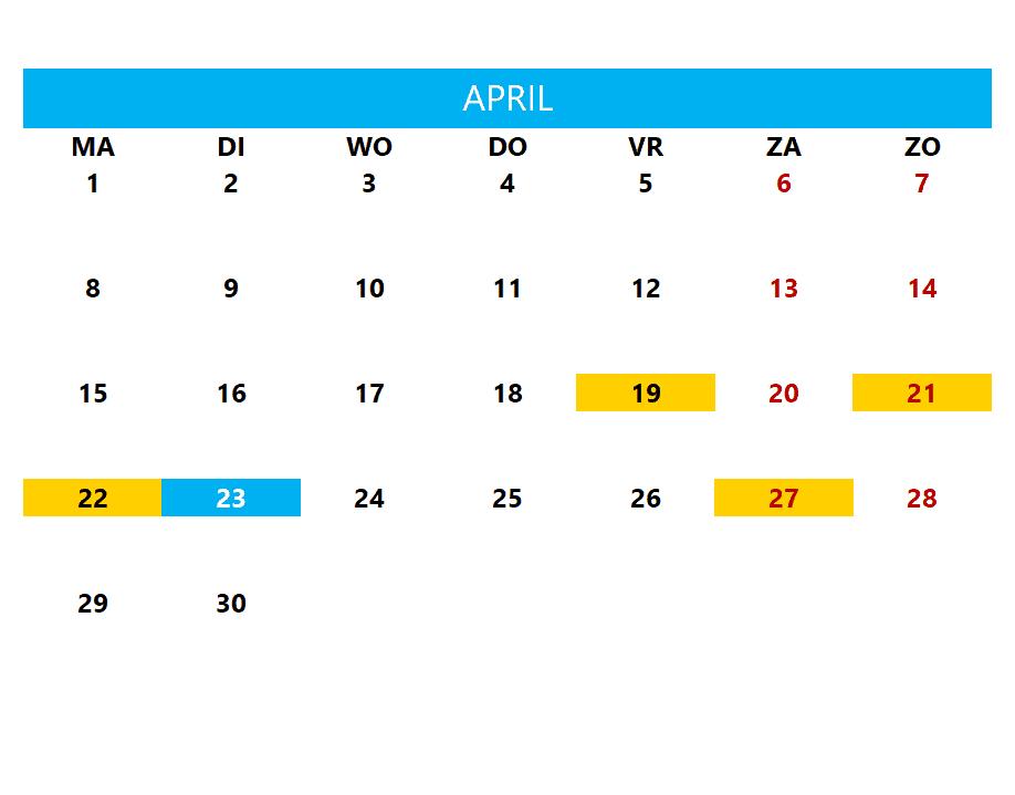 Kalenderontwerp 20
