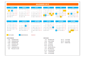 Kalender in Excel