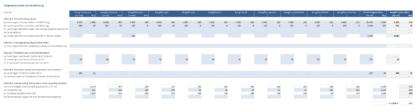 BTW-aangifte twaalfde maand gegevensinvoer en berekening