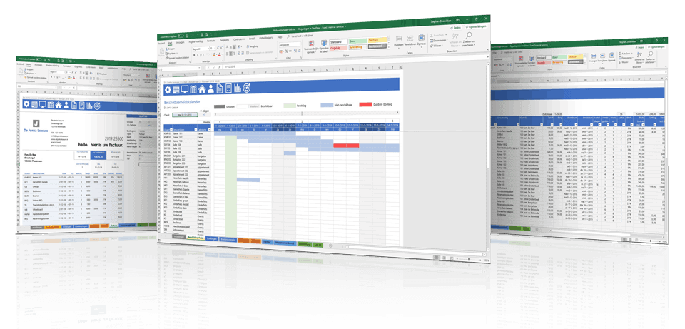 Verhuur in Excel