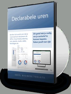 Declarabele uren berekenen in Excel
