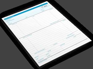 Declaratieformulier in Excel