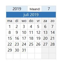 kalender hulp