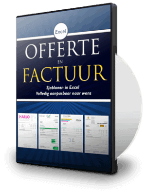 Offerte- en factuursjabloon
