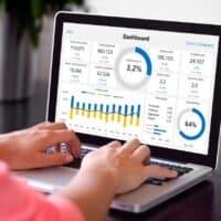 Dashboard financial plan