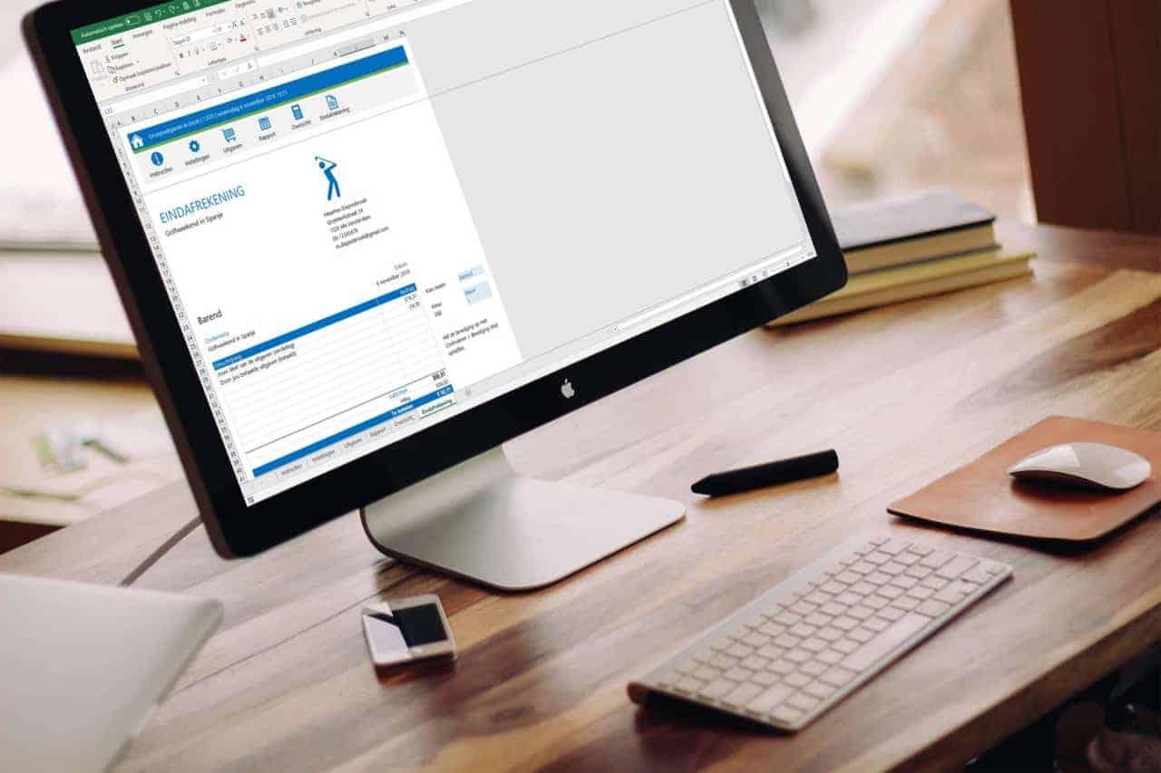 Kosten verdelen in Excel