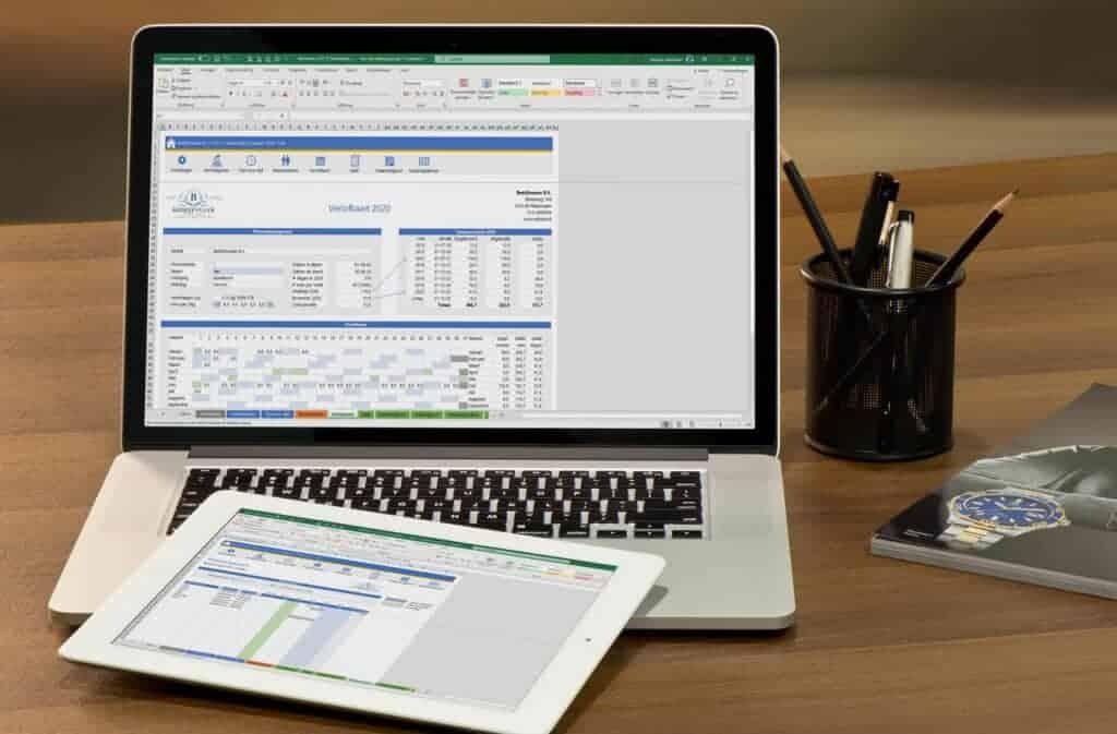Simpel vakantie uren bijhouden in Excel