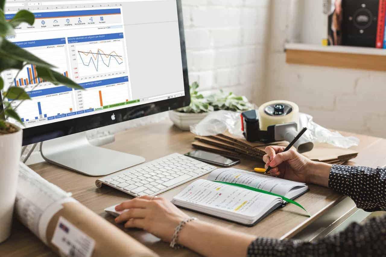 Huishoudboekje in Excel