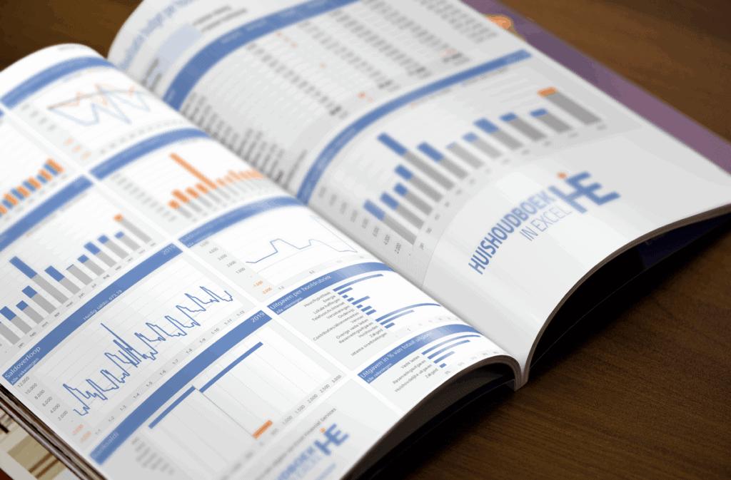 Rapportages uit Huishoudboek in Excel
