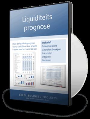 Liquiditeitsprognose opstellen in Excel