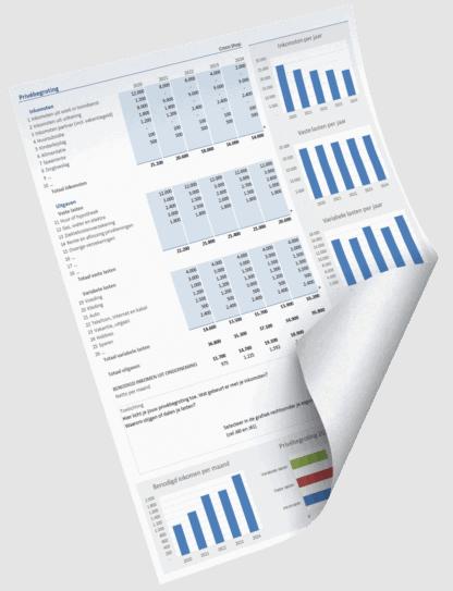 Excel begroting prive