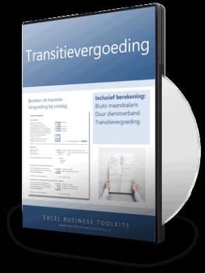 Transitievergoeding berekenen Excel