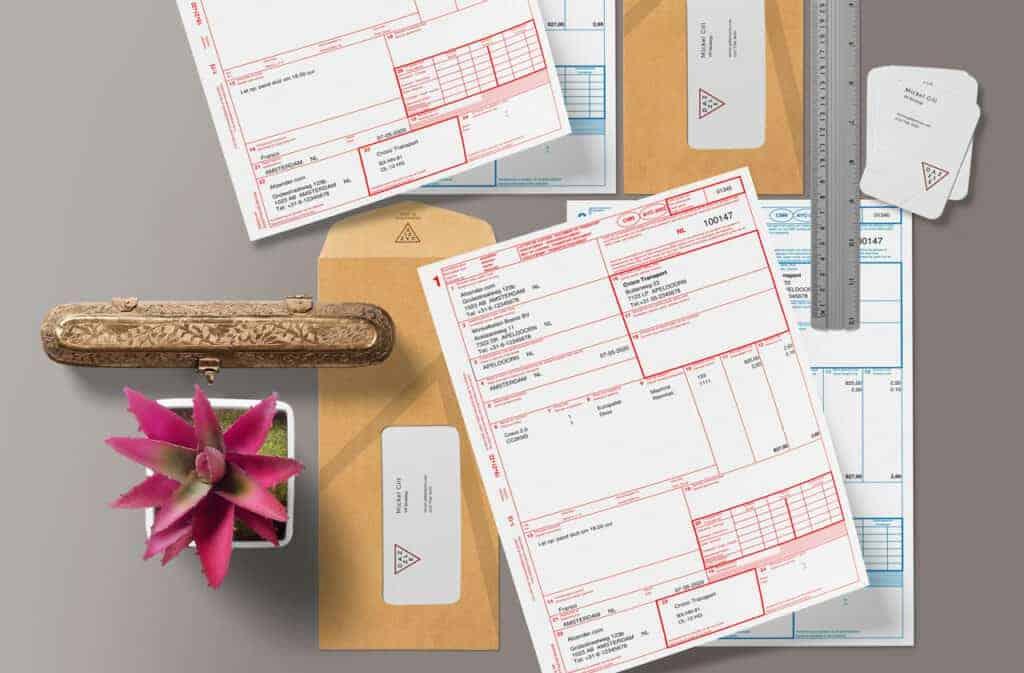 CMR vrachtbrief in Excel voor op kantoor of onderweg
