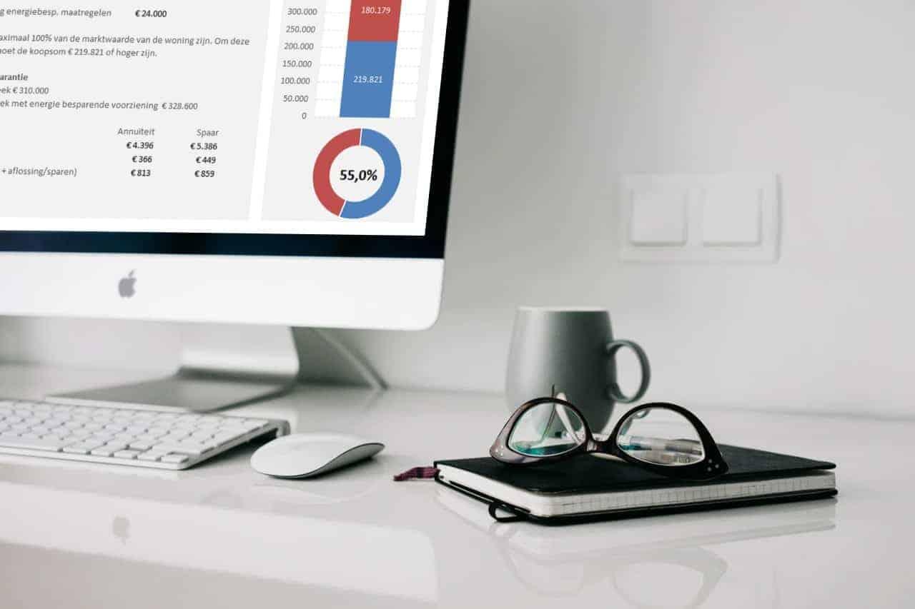 Bereken wat je als ondernemer maximaal kunt lenen bij de aankoop van een huis op je eigen computer