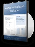 Aantal werkdagen berekenen in Excel