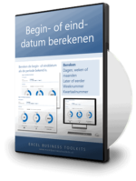 Begin- of einddatum berekenen