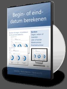 Begin- of einddatum berekenen