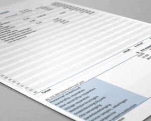 Registreren van onderhoudskosten in Excel
