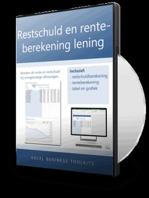 Restschuld en renteberekening lening