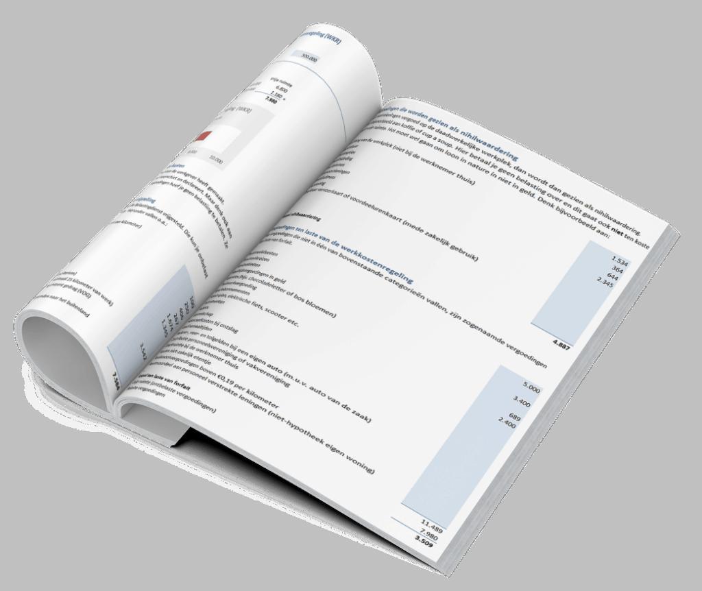Werkkostenregeling lijst vergoedingen