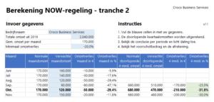 NOW-regeling 2.0 invoer gegevens v11