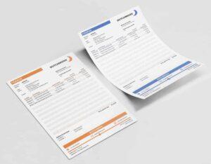 Pakbon in Excel is eenvoudig aan te passen