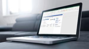 Pakbon maken in Excel op je laptop