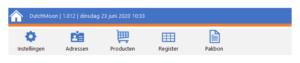 Navigatiemenu in Excel