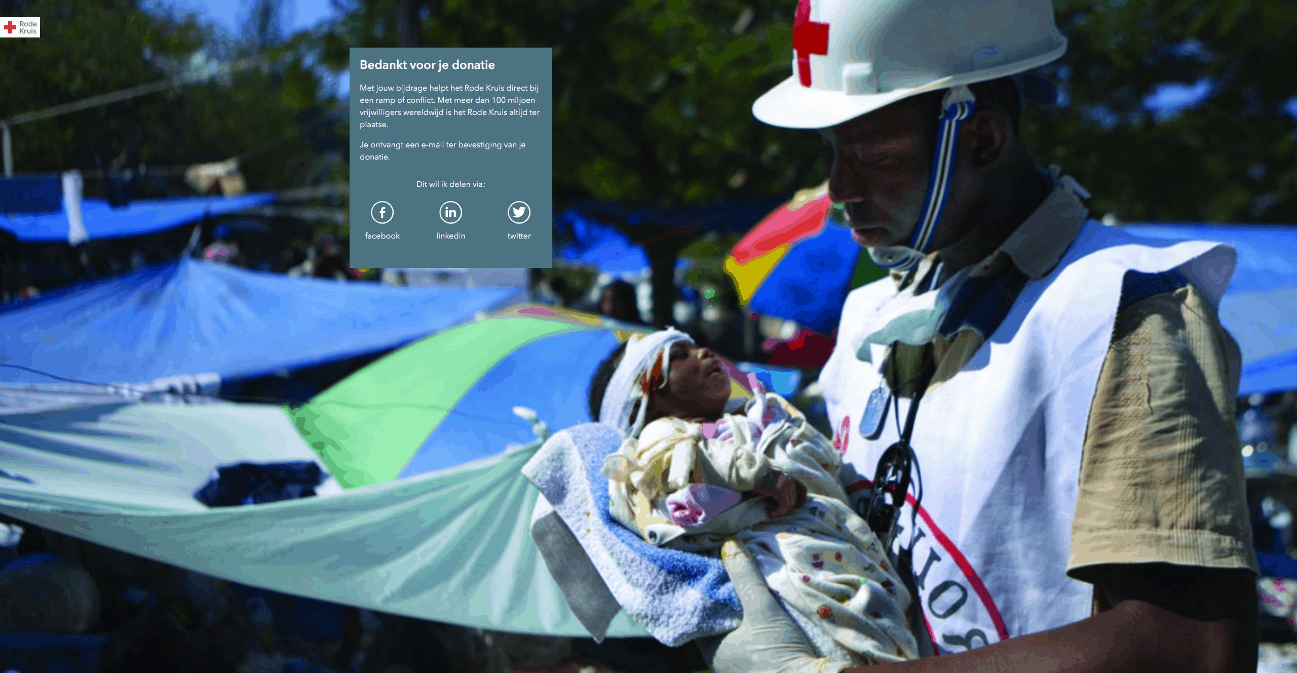Donatie Rode Kruis voor NOW-regeling template