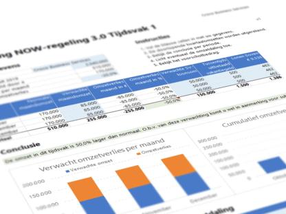 Berekening NOW 3.0 Excel Voorbeeld