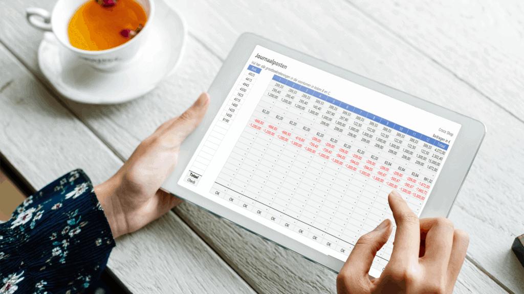 Overlopende activa in Excel beheren