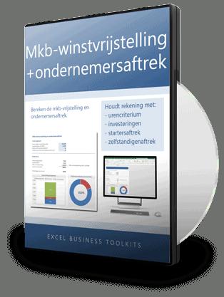 Mkb-winstvrijstelling en ondernemersaftrek berekenen in Excel