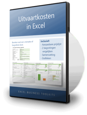 Uitvaartkosten berekenen in Excel