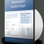 Wettelijke bedenktijd berekenen in Excel