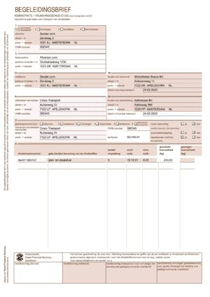 Voorbeeld begeleidingsbrief pagina 2