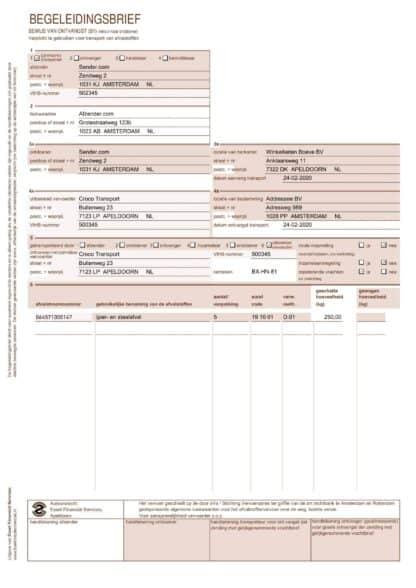 Voorbeeld begeleidingsbrief pagina 4