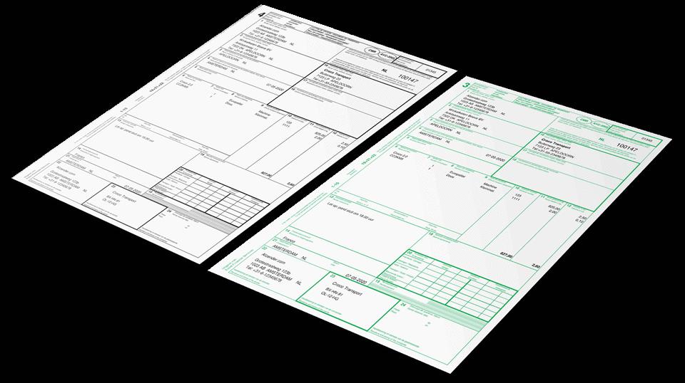 CMR vrachtbrief in Excel maken