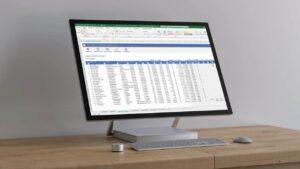 Leasecontracten beheer in Excel