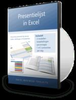 Presentielijst in Excel