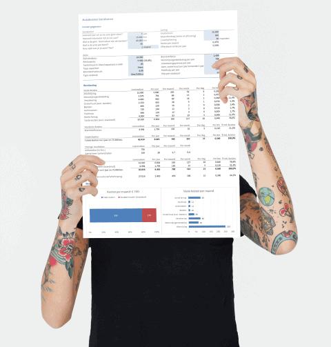 Excel autokosten berekenen