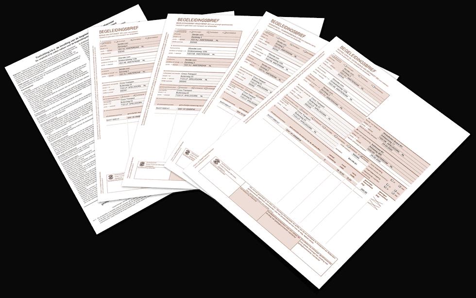 Begeleidingsbrief in Excel - met of zonder toelichting
