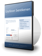 Uurloon berekenen in Excel