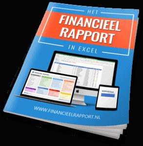 Handleiding hoe je een financiële rapportage maakt in Excel