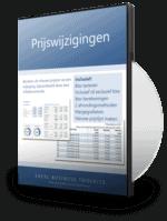 Prijswijzigingen berekenen met Excel