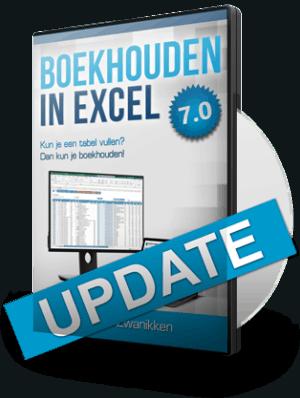 Boekhouden in Excel Update