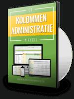 Kolommenadministratie in Excel