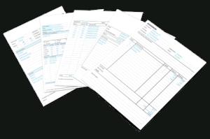 Werkbon in Excel - ontwerpen 6 t/m 10