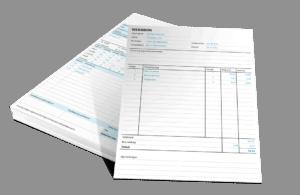 Excel werkbon maken voorbeeld