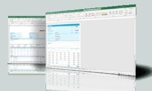 Werkbon in Excel screenshots